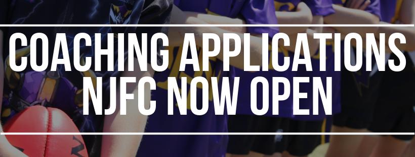 Coaching Applications Now Open